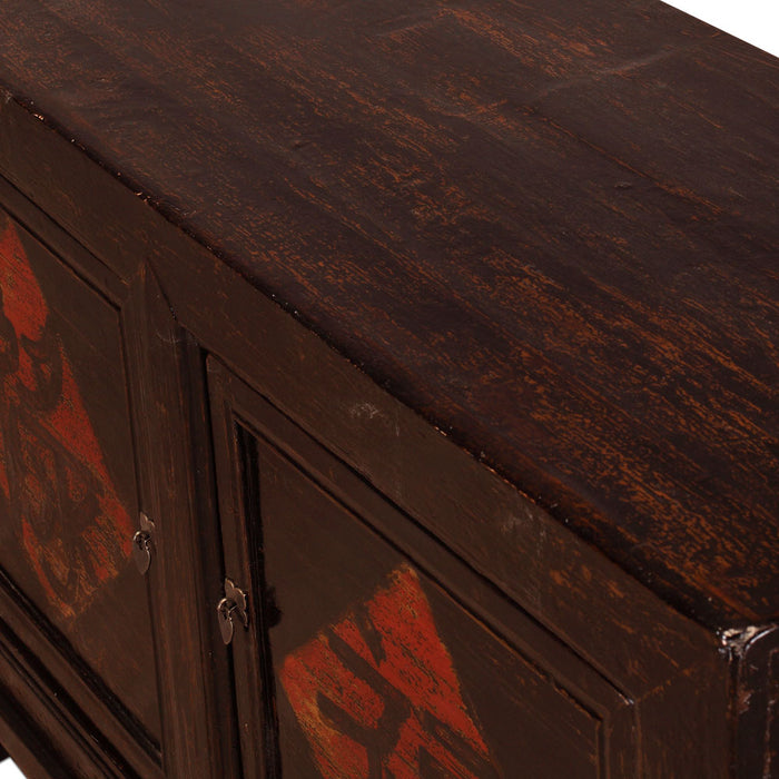 Black Chinese Sideboard
