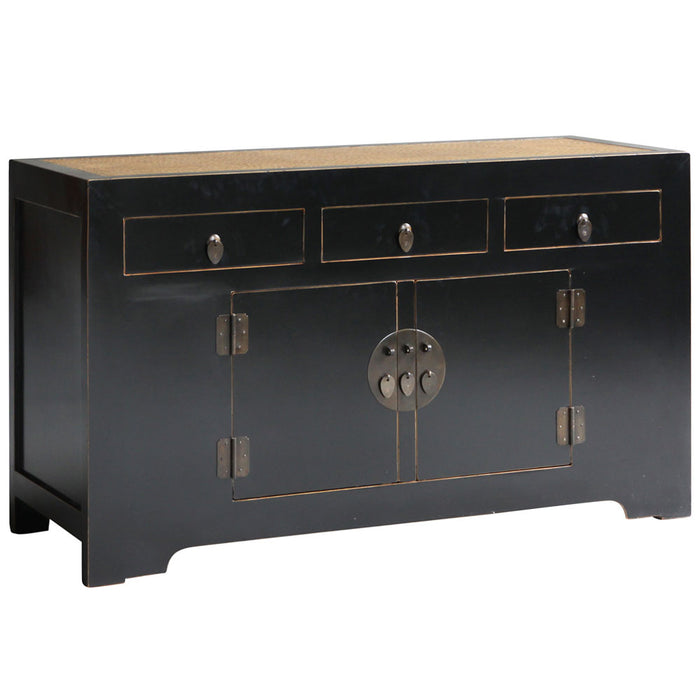 Jiang Black Lacquer Sideboard