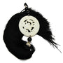 Black Silk Tassel with Jade Phoenix