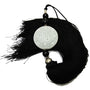 Black Tassel with Double Happiness Symbol