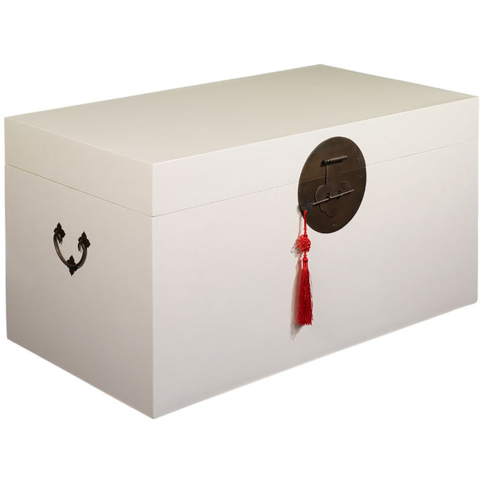 Blanket Trunk, Cream Lacquer