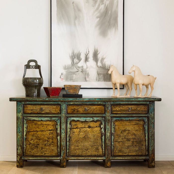 Chinese Antique Painted Buffet