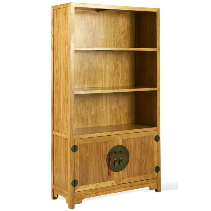Book Cabinet, Light Elm