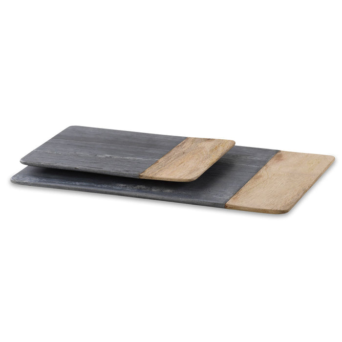 Bwari Long Marble Board, Grey