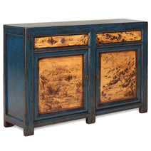 Blue and Cream Sideboard