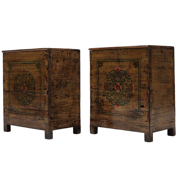 Pair of Lacquered Bedside Chests
