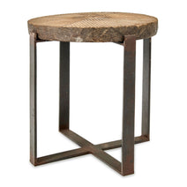 Chakala Wooden Side Table