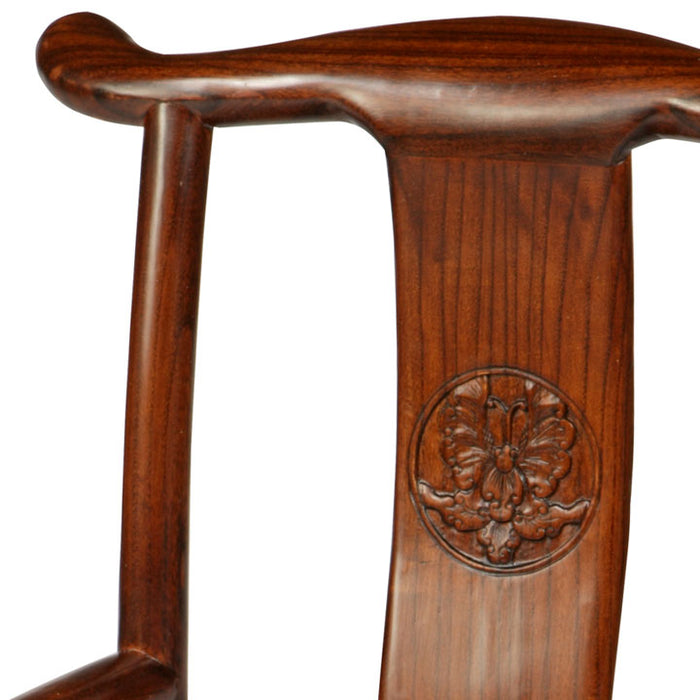 Child's Yoke-Back Armchair, Warm Elm
