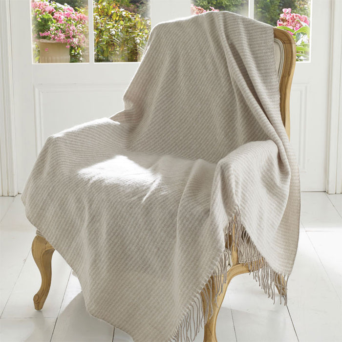 Chiltern Throw, Warm Grey