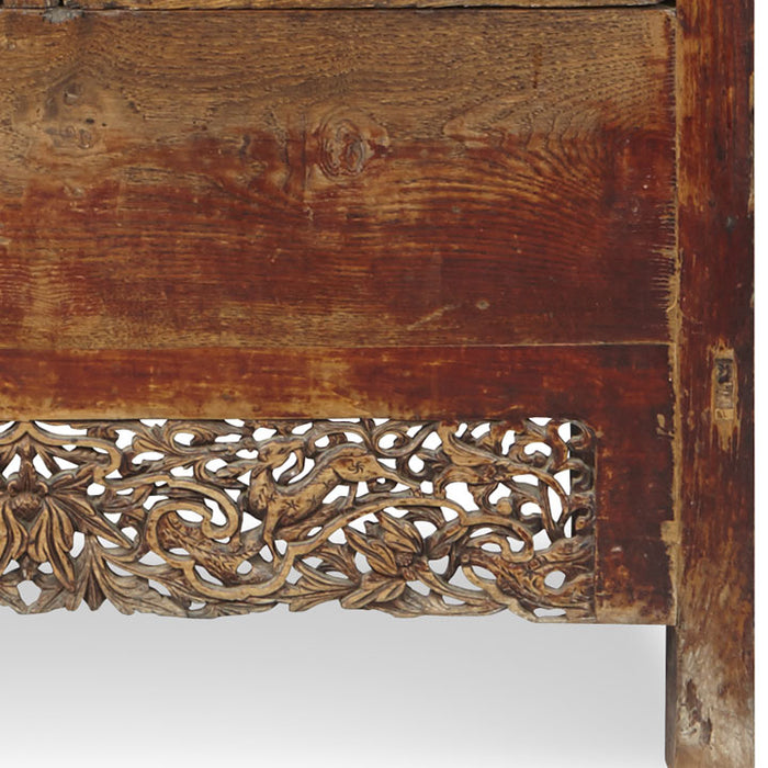 Chinese Elm Wanli Cabinet