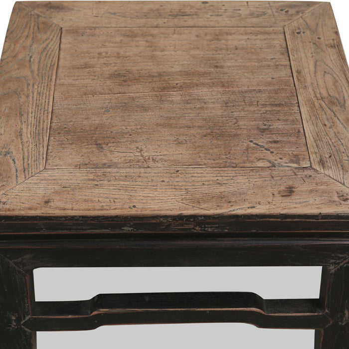 Chinese Antique Square Stool