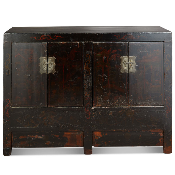 Antique Shanxi Double Sideboard