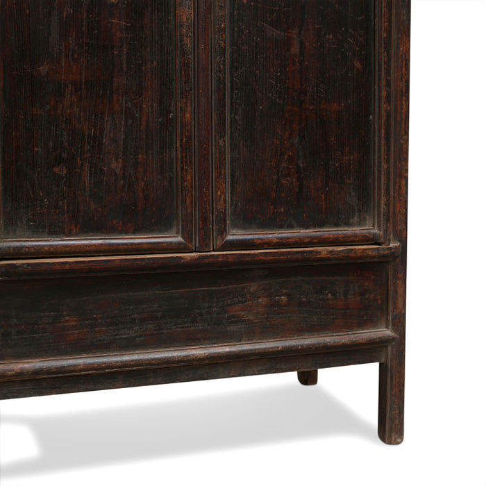 Chinese Antique Tapered Armoire