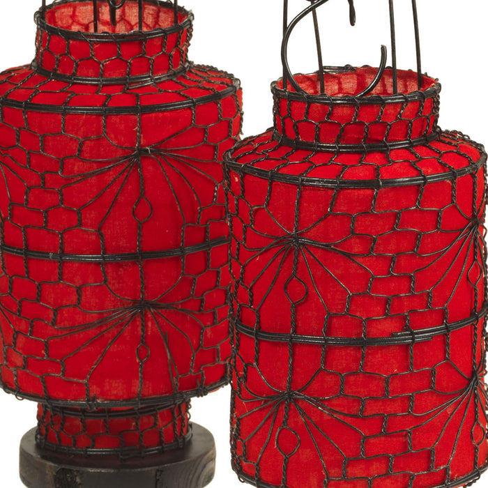 Chinese Lantern - Red Cylindrical