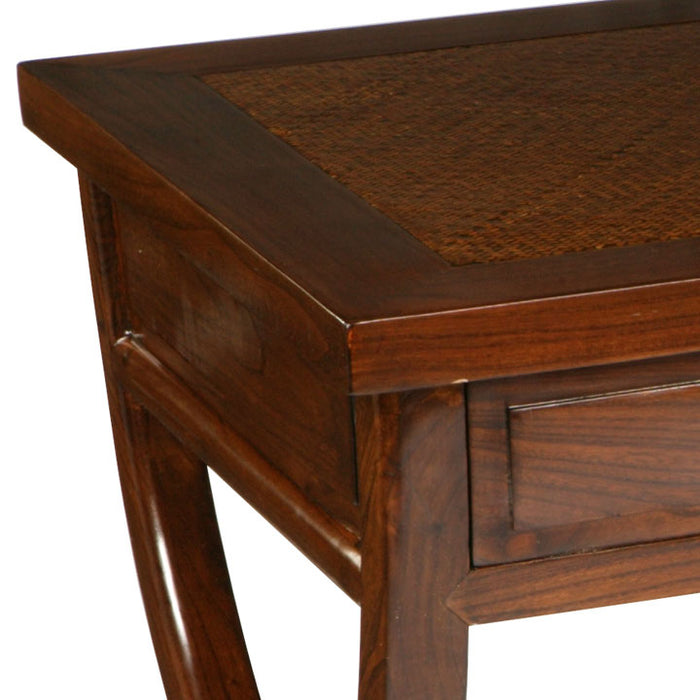 Cross Legged Desk, Warm Elm