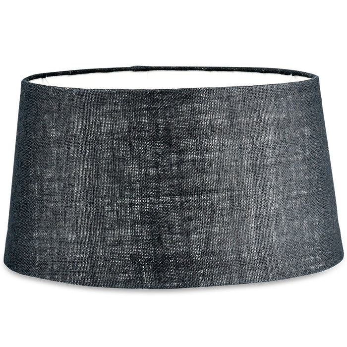 Dia Jute Lampshade, Ink, Large