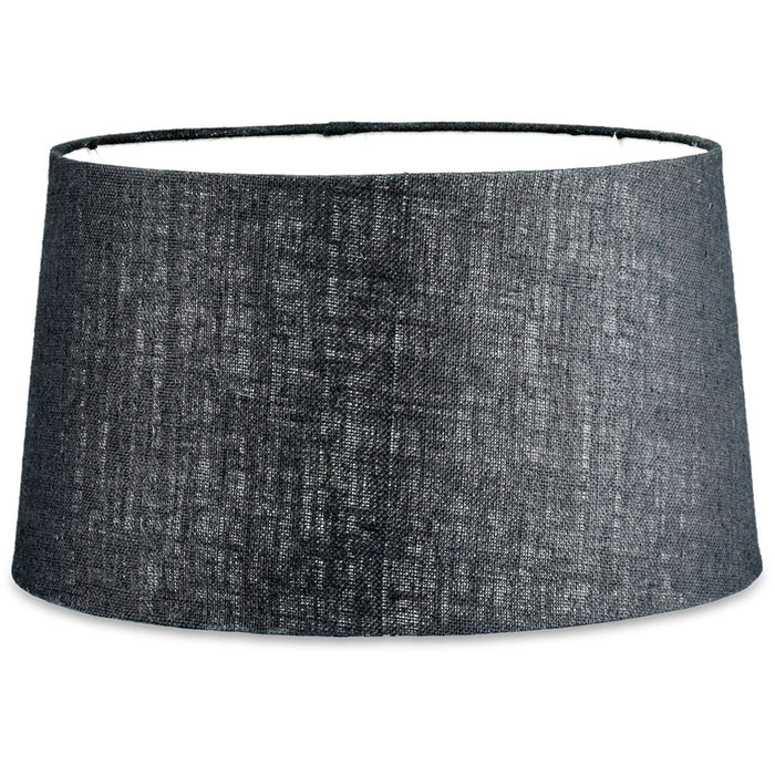 Dia Jute Lampshade, Ink, Extra Large