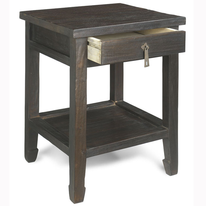 Country Side Table, Chocolate