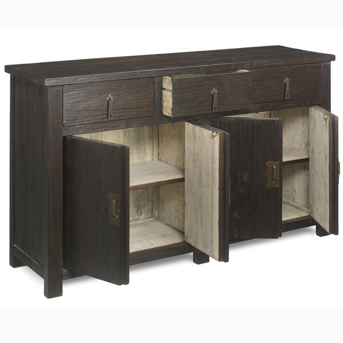 Four Door Sideboard, Chocolate