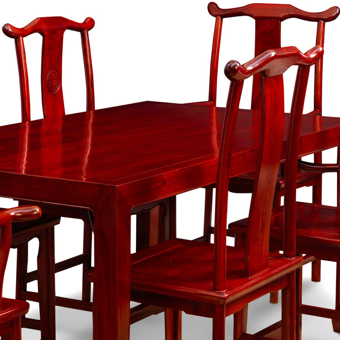 Ming Dining Set, Cherry Red