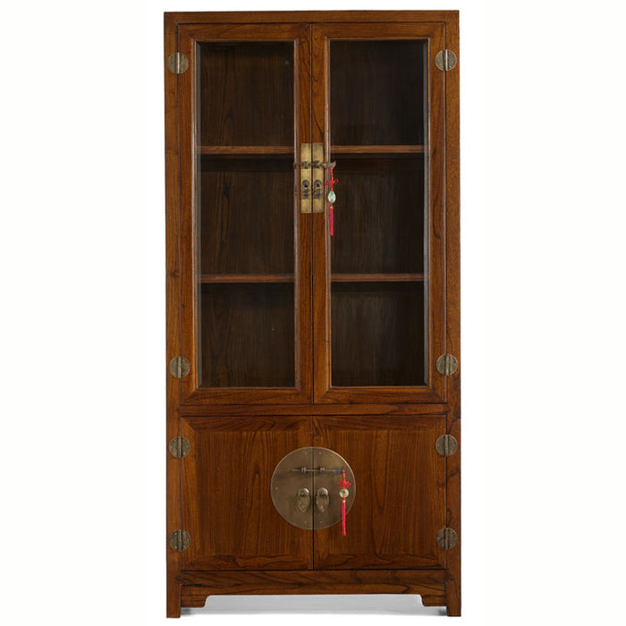Display Cabinet, Warm Elm