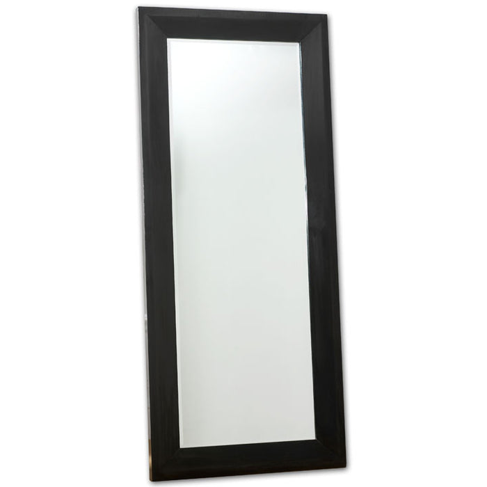 Dressing Mirror, Black Lacquer