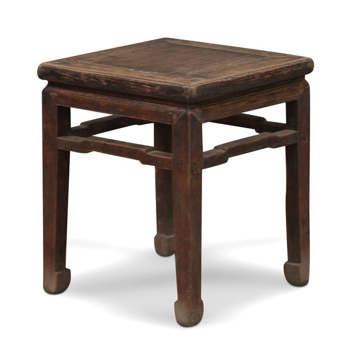 Elm Chinese Antique Stool