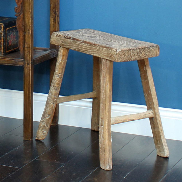 Chinese Flat Top Stool