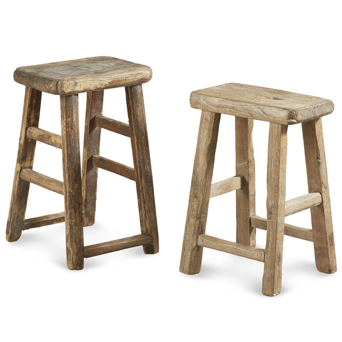 Flat Top Chinese Stools