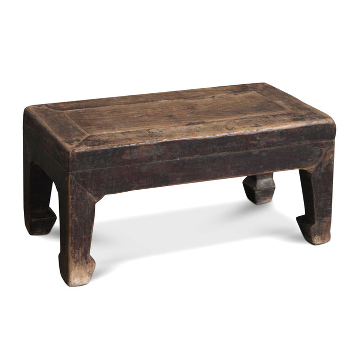 Chinese Antique Elm Foot Stool