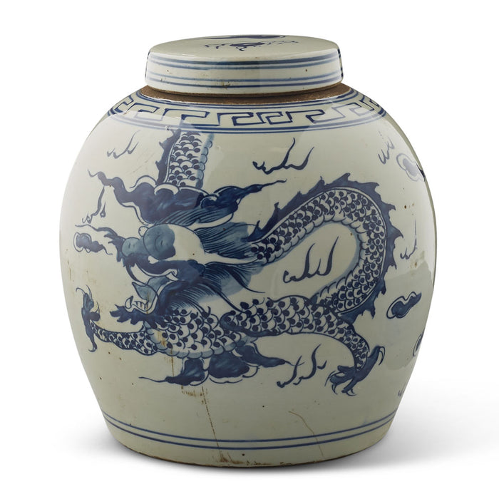 Chinese Ginger Jar with Dragon