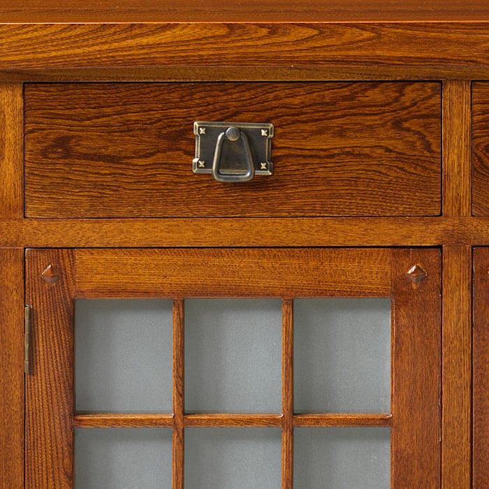 Glass Panelled Sideboard