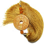 Gold Silk and Stone Tassel