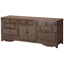 Grey Lacquer Storage Sideboard