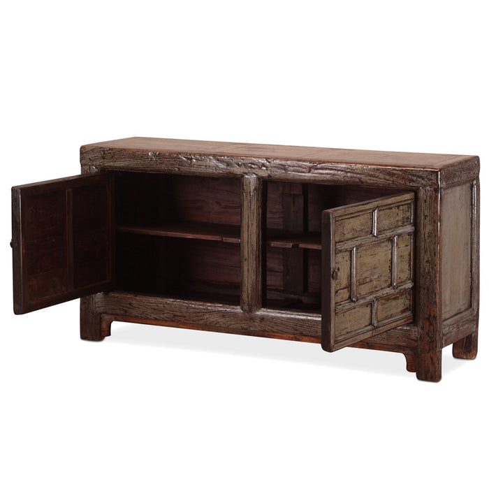 Chinese Grey Lacquer Sideboard