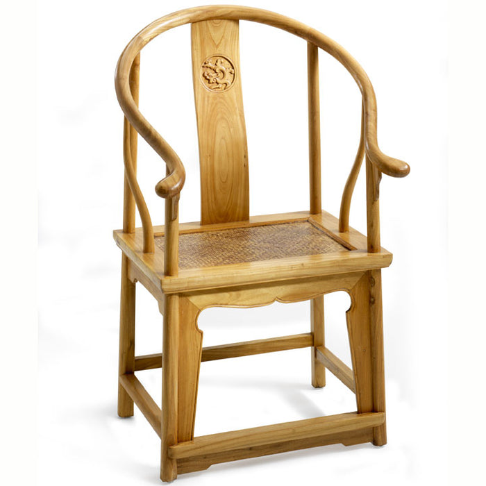 Horseshoe Armchair, Light Elm