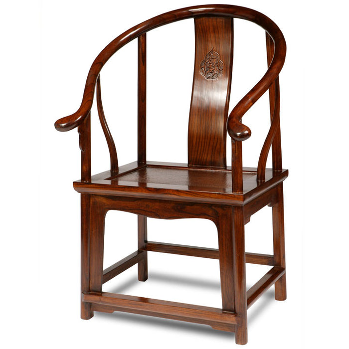 Horseshoe Armchair, Warm Elm