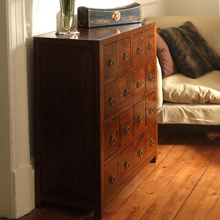 Hundred Eye' Chest, Warm Elm