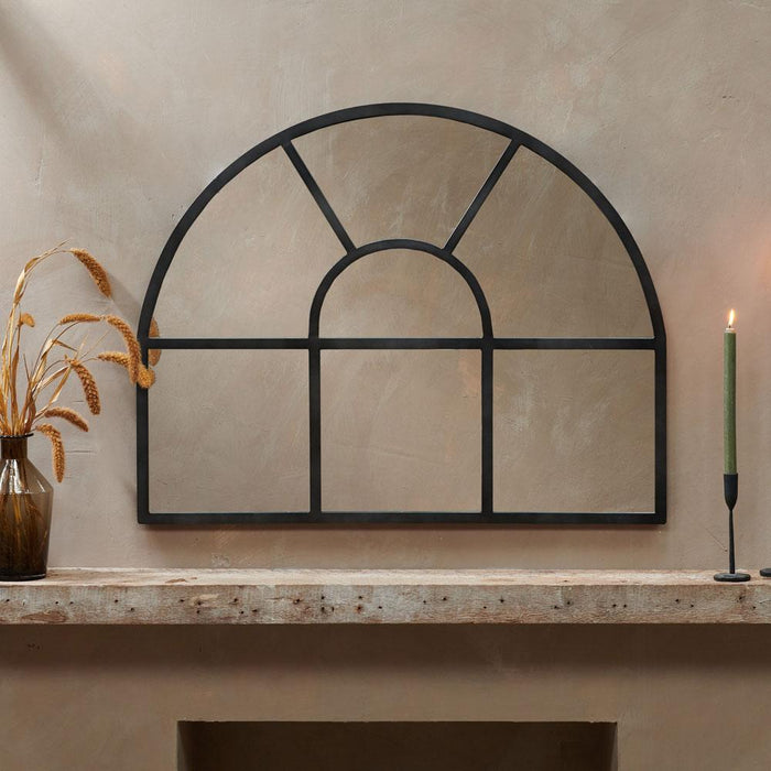 Imoma Overmantle Arch Mirror