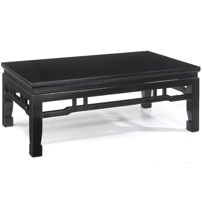 Kang Style Coffee Table, Black Lacquer