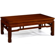 Kang Style Coffee Table, Warm Elm