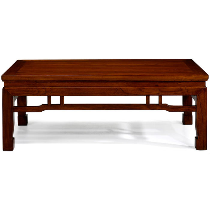 Kang Style Coffee Table, Warm Elm, Clearance Item