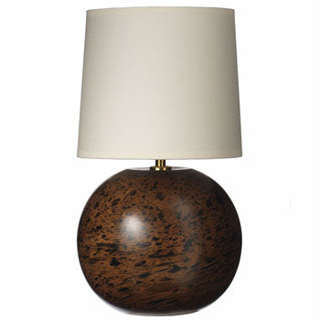 Marble Mango Wood Ball Lamp