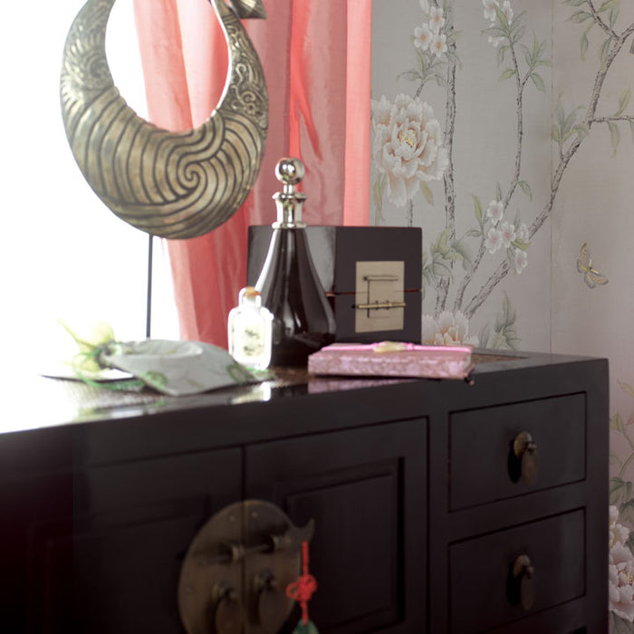 Ladies Cabinet, Black Lacquer