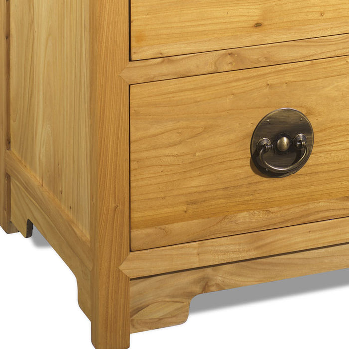 Large Chest of Drawers, Light Elm