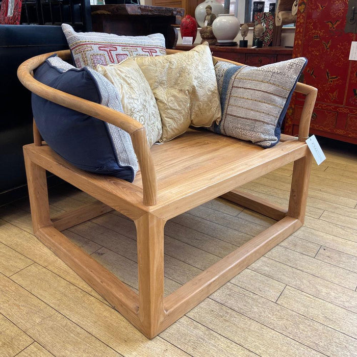 Large Elm Tea Chair