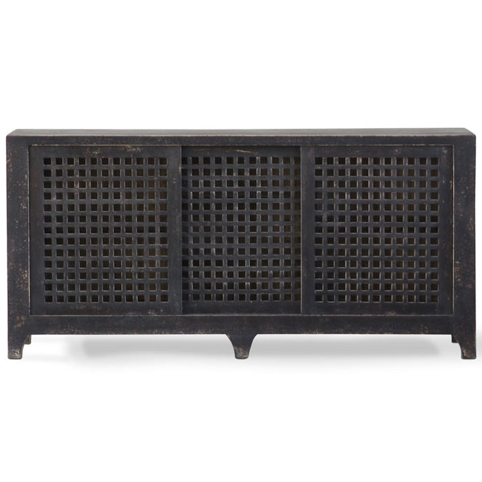Lattice Reclaimed Wood Sideboard