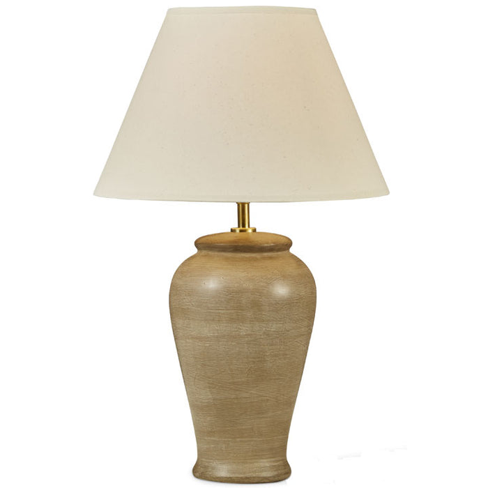 Ceramic Laura Lamp in Taupe