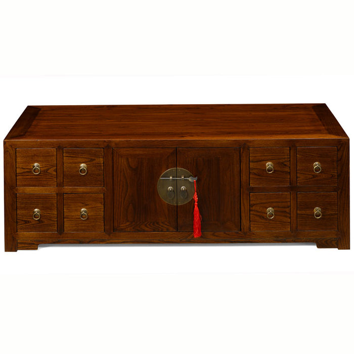 Low Apothecary's Cabinet, Warm Elm
