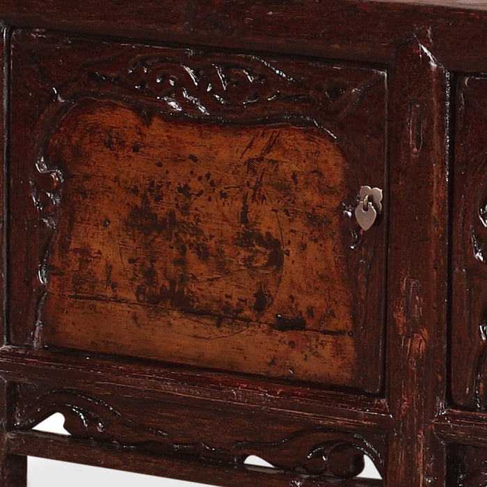 Antique Chinese Low Sideboard